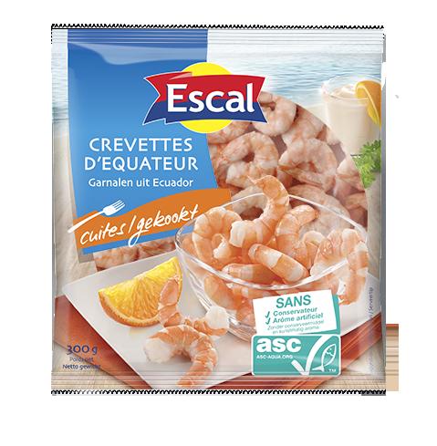 Crevettes d'Équateur ASC