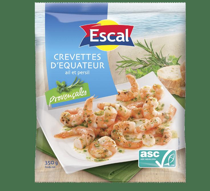Crevettes d'Équateur provençales ASC