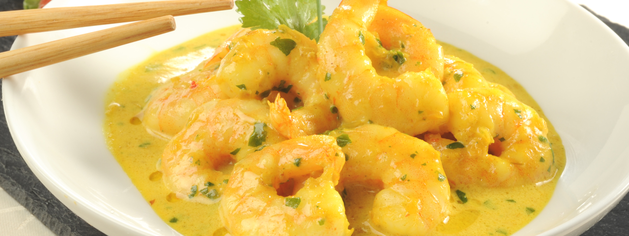 Gambas Coco-Curry