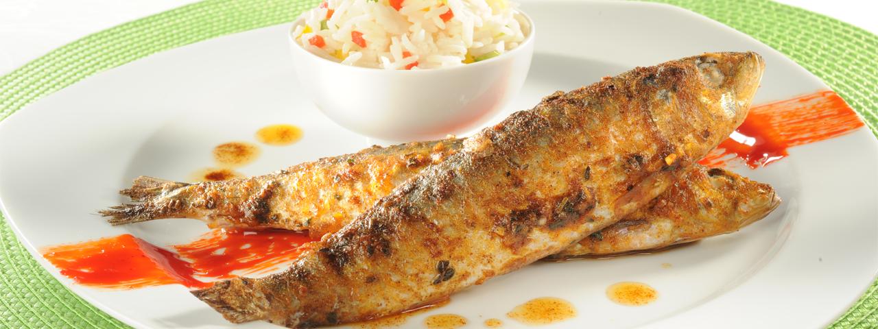 Sardines grillées Piri-Piri
