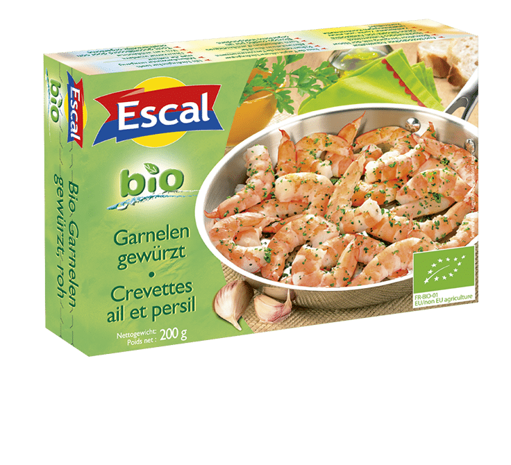 Crevettes ail et persil BIO