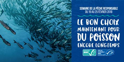 ESCAL, partenaire de la Semaine de la Pêche Responsable 2018