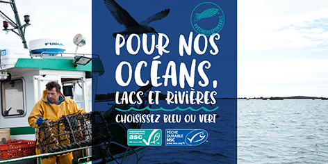 ESCAL, partenaire de la Semaine de la Pêche Responsable 2018 en Belgique