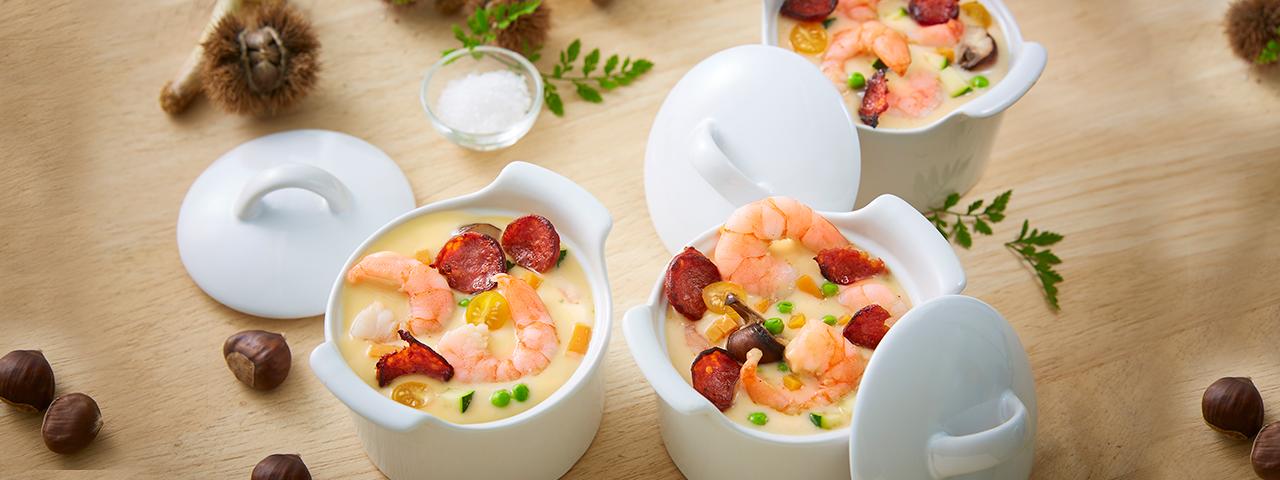 Pour l'automne, apportez de la couleur dans vos assiettes !