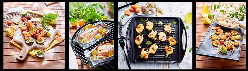 Des produits de la mer pour vos barbecues