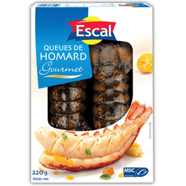 Queues de homard MSC