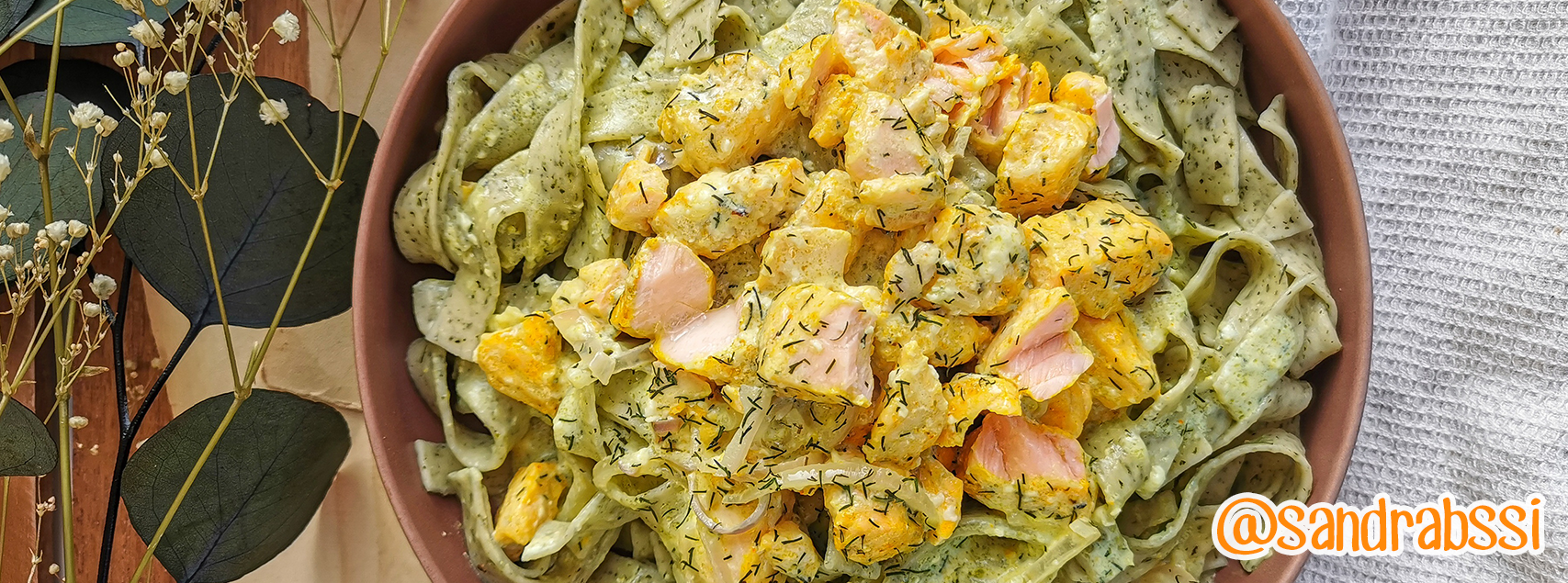 Tagliatelles au saumon et à la crème